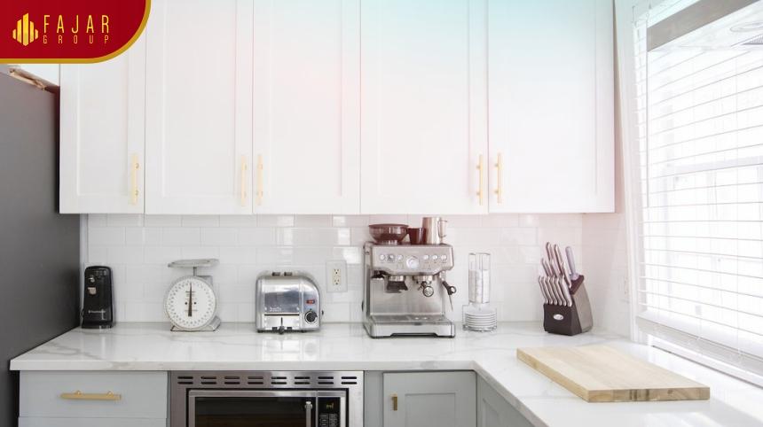 Design Dapur Menyatu Dengan Taman  tips cerdas memilih kabinet untuk ruang dapur fajar group